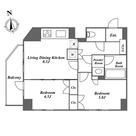 ブランノワール代々木 / 2LDK(44.08㎡) 部屋画像1