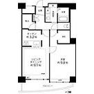 河田町コンフォガーデンⅣ / 2LDK(61.72㎡) 部屋画像1
