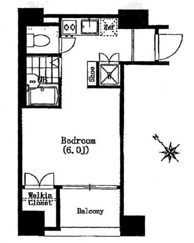 シンシア銀座EAST / 2階 部屋画像1