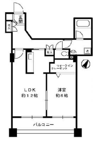 サングランパ / 7階 部屋画像1