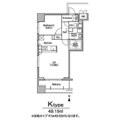 グラン・アベニュー栄 / 1LDK(49.03㎡) 部屋画像1