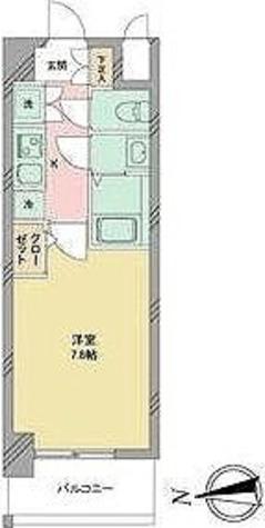 S-RESIDENCE志賀本通 / Cタイプ(25.20㎡) 部屋画像1