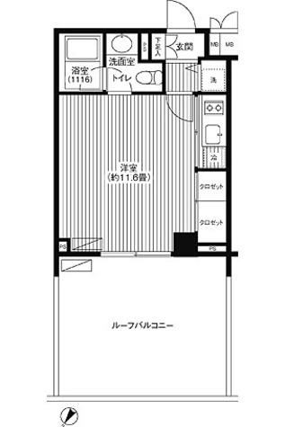 グランハイツ代々木 / ワンルーム(31.98㎡) 部屋画像1