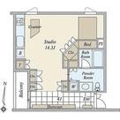 月光町アパートメント / 203 部屋画像1
