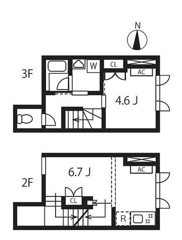 ウーヴァス池袋 / 1LDK(41.07㎡) 部屋画像1