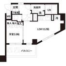 レジディア白金高輪(旧アルティス白金高輪) / 1LDK(37.93㎡) 部屋画像1
