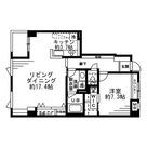 レジディア六本木檜町公園 / 1LDK(63.16㎡) 部屋画像1