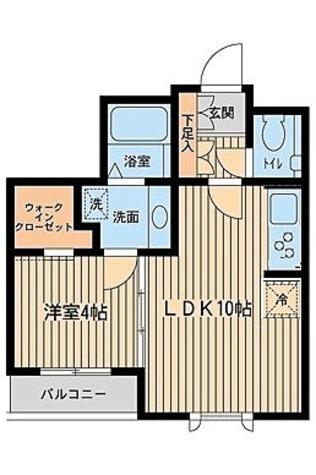 プロスペクト初台 / 1階 部屋画像1