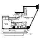 パークアクシス六本木檜町公園 / 1LDK(48.59㎡) 部屋画像1