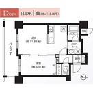レクシード両国駅前 / Dタイプ(41.02㎡) 部屋画像1
