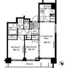 パークアクシス月島 / 2LDK(49.68㎡) 部屋画像1