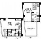 レジディア自由が丘Ⅱ(旧CRレジデンス自由が丘) / 1LDK(56.86㎡) 部屋画像1