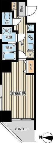 レオーネ両国 / 1K(27.16㎡) 部屋画像1