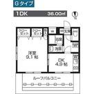 レオーネ板橋本町 / Gタイプ(36.00㎡) 部屋画像1