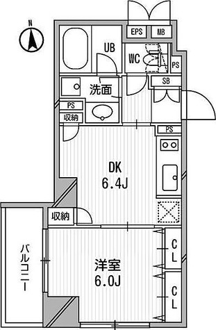 クリオ三田ラ・モード / 1DK(32.20㎡) 部屋画像1