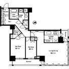 パークタワー芝浦ベイワード アーバンウイング / 2LDK(83.33㎡) 部屋画像1