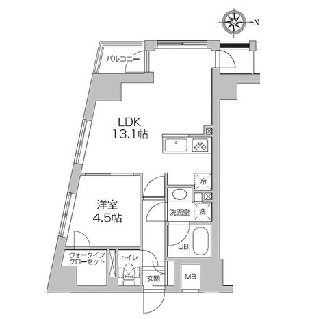 レジディア高円寺 / 1LDK(41.98㎡) 部屋画像1