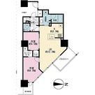 プライムパークス品川シーサイド ザ・タワー / 2LDK(60.25㎡) 部屋画像1