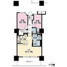 プライムパークス品川シーサイド ザ・タワー / 2LDK(60.08㎡) 部屋画像1