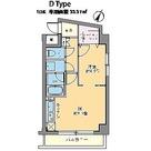 カスタリア千駄ヶ谷 / 1DK(33.37㎡) 部屋画像1