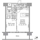 パークハビオ目黒リバーサイド / 1LDK(43.16㎡) 部屋画像1
