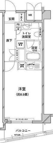 コンフォリア目黒八雲 / 1R(28.86㎡) 部屋画像1