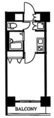 スカイコート神田第5 / 5階 部屋画像1