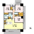ロイヤルパークスERささしま / E-3LDK(85.54㎡) 部屋画像1
