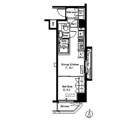 パークアクシス清澄白河 / 1DK(30.30㎡) 部屋画像1