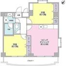 アビタシオン元住Ⅰ / 2LDK(58.00㎡) 部屋画像1