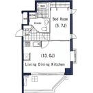 LANAI CLASSIC TOWER GARDEN VIEW(ラナイクラシックタワーガーデンビュー) / 1LDK(43.92㎡) 部屋画像1