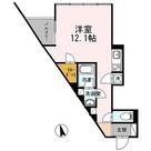 カスタリア目黒長者丸(旧イプセ目黒) / ワンルーム(34.68㎡) 部屋画像1