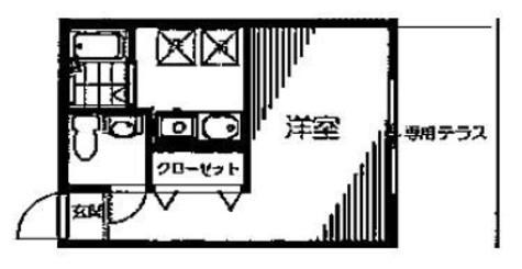ゼスティ神楽坂(ZESTY神楽坂) / 2階 部屋画像1