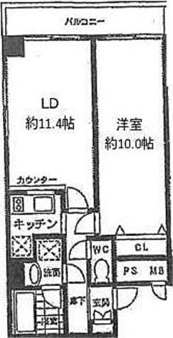 エルスタンザ参宮橋 / 1LDK(56.02㎡) 部屋画像1