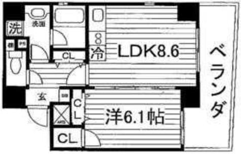 Brio武蔵小山(ブリオ武蔵小山) / 5階 部屋画像1