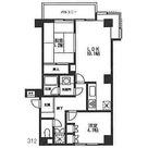 西早稲田クレセントマンション / 2LDK(52.39㎡) 部屋画像1
