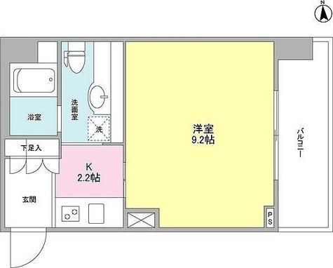 プロスペクト荻窪 / 1K(30.03㎡) 部屋画像1