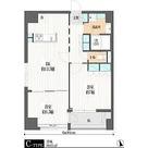 雷門江戸マンション / 2DK(60.01㎡) 部屋画像1