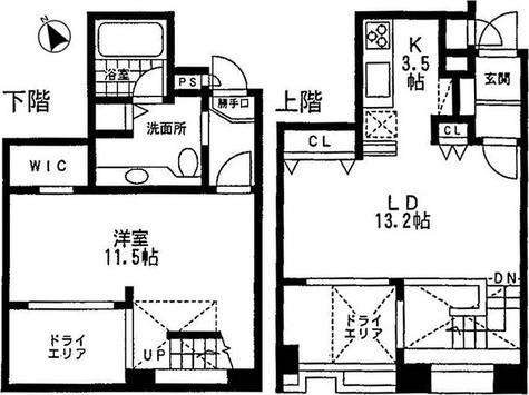 ミルーム乃木坂 / 1LDK(65.59㎡) 部屋画像1