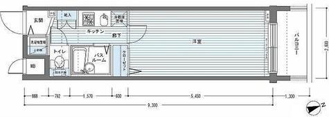 レジディア銀座東 / 1K(23.86㎡) 部屋画像1