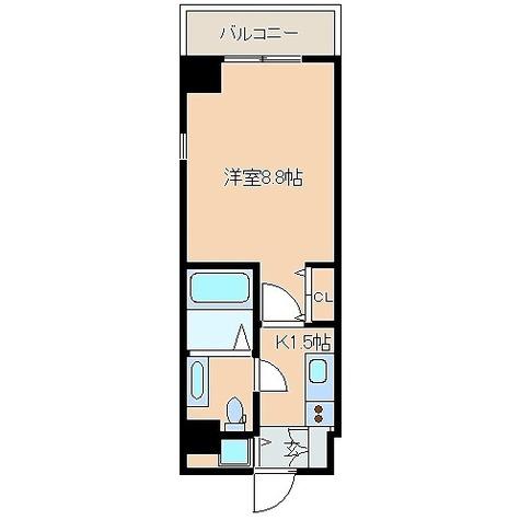 レジディア日本橋人形町 / 1K(27.81㎡) 部屋画像1