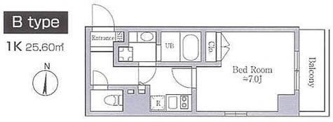 レジディア南品川 / 1K(25.60㎡) 部屋画像1