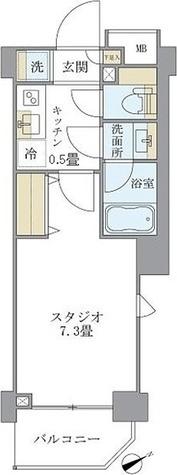 リージア中野新橋 / 1K(25.11㎡) 部屋画像1