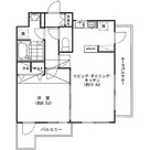 セレーネ自由が丘 / 1LDK(42.32㎡) 部屋画像1