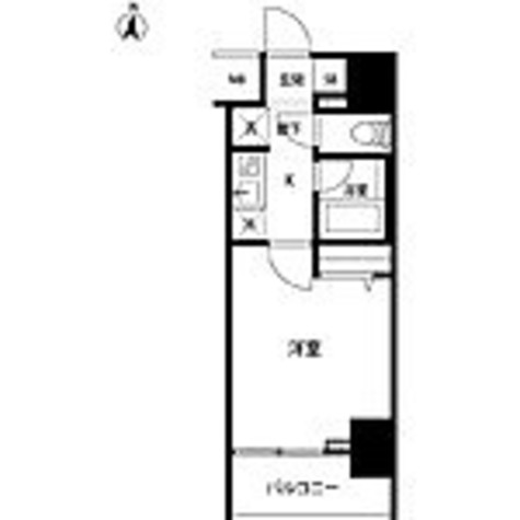 ルクレ錦糸町 / 1K(22.8㎡) 部屋画像1