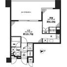 シティハウス東京新橋 / 1LDK(45.75㎡) 部屋画像1