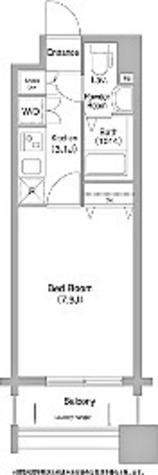 コンフォリア谷塚 / 4号室タイプ(25.20㎡) 部屋画像1