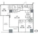 カスタリアタワー品川シーサイド / 80Bタイプ(75.82m?) 部屋画像1