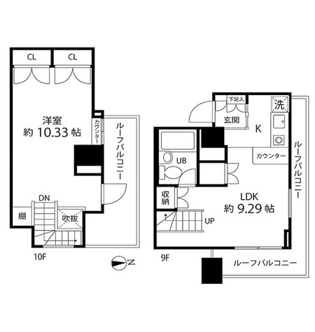 ハイリーフ芝大門(旧レジディア芝大門) / 1階 部屋画像1