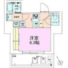 門前仲町レジデンス壱番館 / 1K(25.87㎡) 部屋画像1